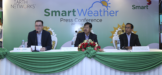 "Image for Smart Axiata launches advanced weather intelligence service ""Smart Weather"""
