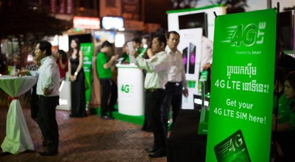 Image for Smart launches 4G LTE in Siem Reap