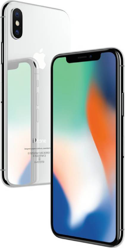 apple iphone x 256gb sim-free smartphone - space grey