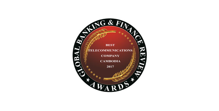 Best Telecommunications Company Cambodia 2017 by Global Banking & Finance Review