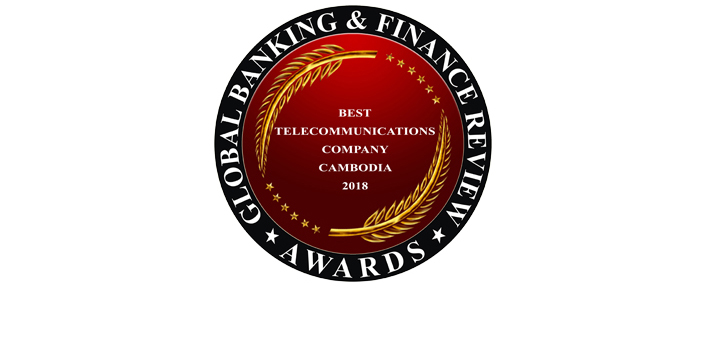 Best Telecommunications Company Cambodia 2018 by Global Banking & Finance Review