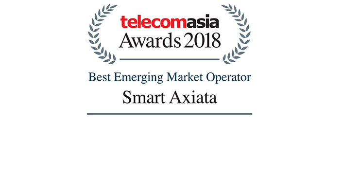 Best Emerging Market Operator 2018 by Telecom Asia