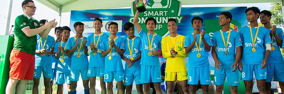 Image for Smart Community Cup promotes football for development to over 600 Cambodian youth