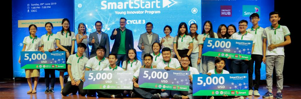Image for Innovation aplenty at SmartStart Cycle 3