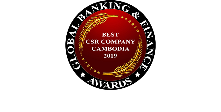 Best CSR Company Cambodia 2019 by Global Banking & Finance Review