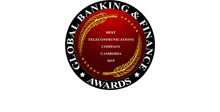 Best Telecommunications Company Cambodia 2019 by Global Banking & Finance Review