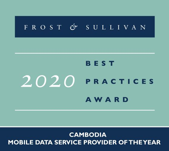 Mobile Data Service Provider 2020 by Frost and Sullivan​