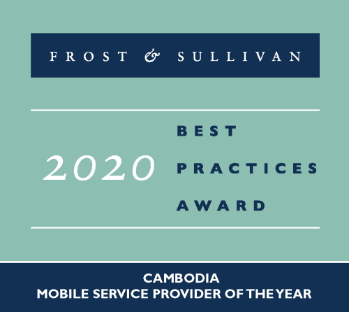 Mobile Service Provider 2020 by Frost and Sullivan​