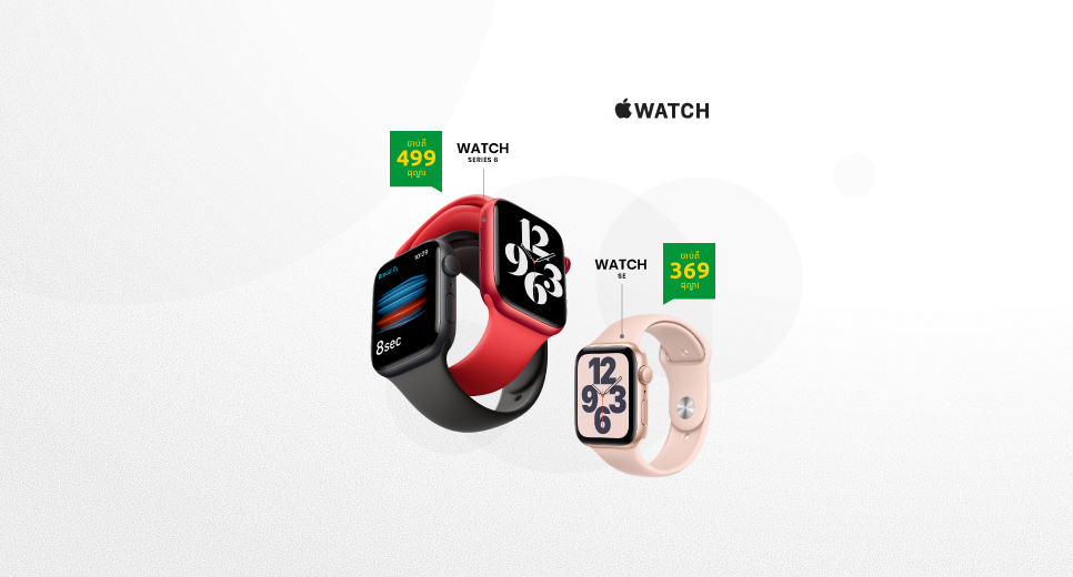 Image for Say Hello to Apple Watch Series 6 & SE​