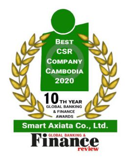Best CSR Company Cambodia 2020 by Global Banking & Finance Review​