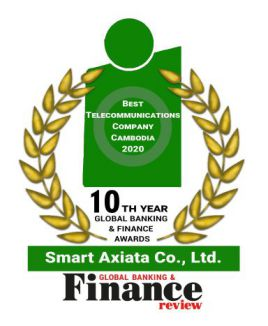 Best Telecommunications Company Cambodia 2020 by Global Banking & Finance Review​